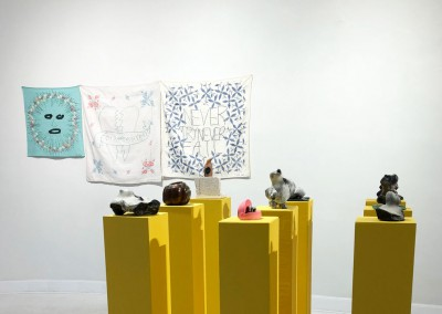 'Keeper of Heads' Installation View